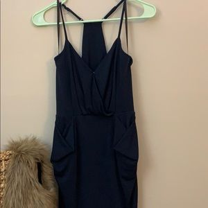 BCBG Mini Dress with Front Pockets